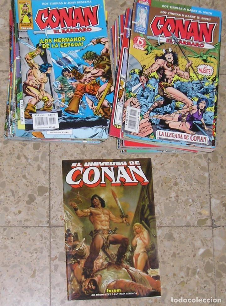 Conan Fantasia Heroica Completa 98 ejemplares más regalo Planeta DeAgostini