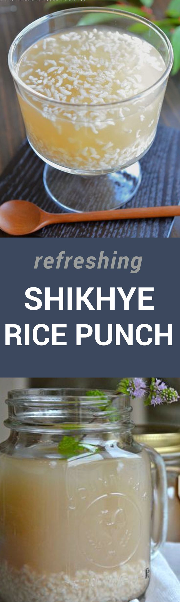 Did you know this rice punch is a digestive helper? Sweet and refreshing, maybe shikhye can help those Christmas bloat to go away :)