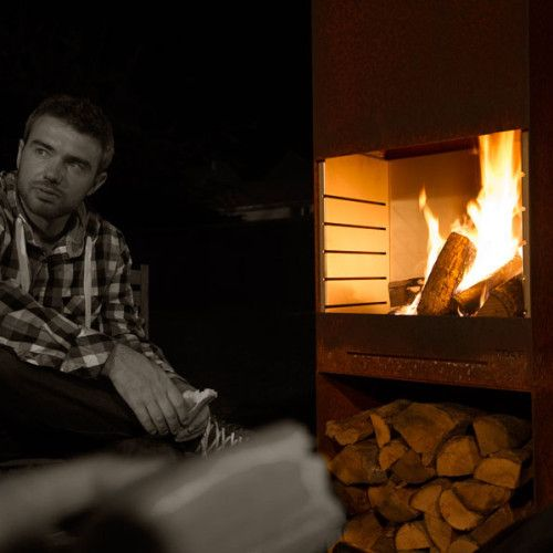 Tuinvuur koken en warmte