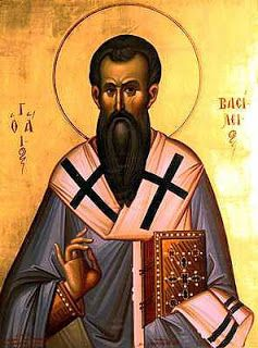 Eastern Rite Catholic Filipinos: THE 3 HOLY HIERARCHS: ST BASIL THE GREAT