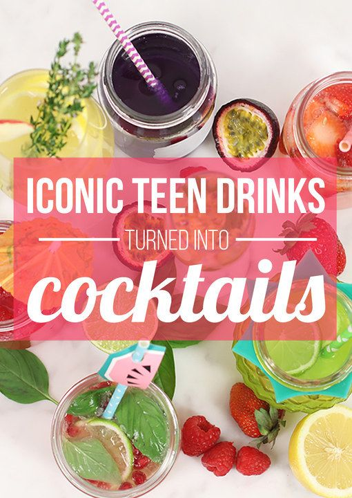 We Turned Notorious Aussie Teen Drinks Into Grown-Up Cocktails