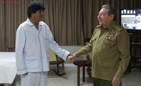 Evo Morales será operado de un nódulo en la garganta el próximo abril en Cuba