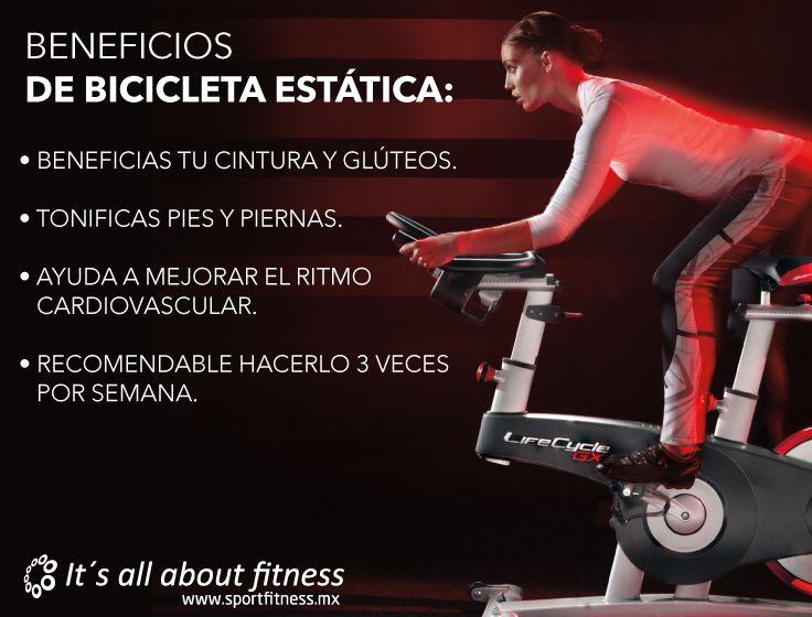 Entrena en bicicleta estática y benefíciate con todas las ventajas que ofrece.