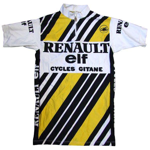 Renault/Elf/Cycles Gitane 1983 Jersey by Castelli