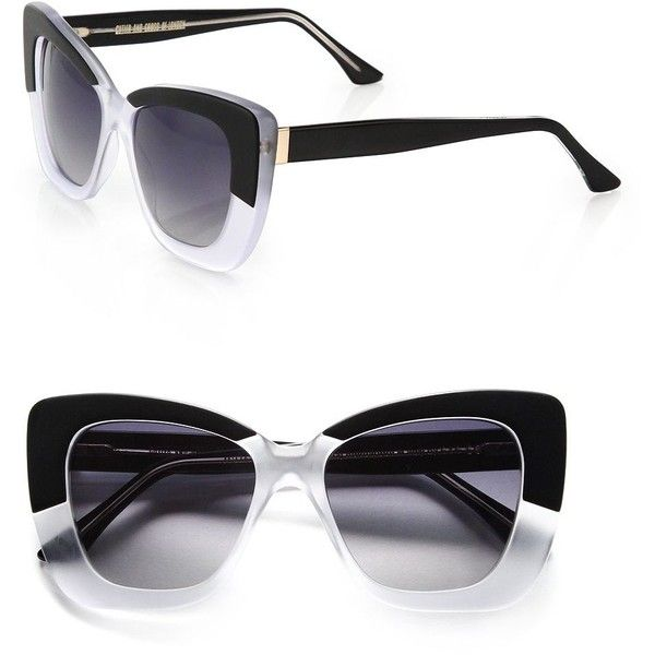 CUTLER AND GROSS Vintage 53MM Cat's-Eye Sunglasses