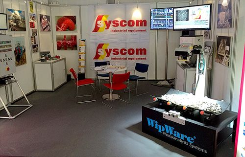 """""""Bauma was a huge success for us this year"""", said Guido Pas of Syscom BV, WipWare's European distributor, following the conclusion of the world's largest trade fair. #Bauma #WipWare #mining #technology #tradeshow #fair #Syscom #Europe"""