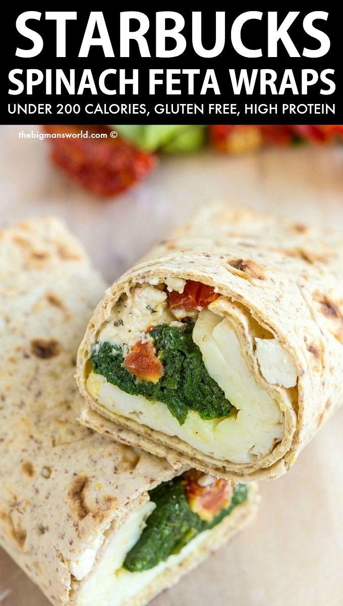 Copycat Starbucks Spinach And Feta Wrap Freezer Friendly The Big Man S World Recipe In 2020 Breakfast Wraps Wraps Recipes Healthy Wrap Recipes