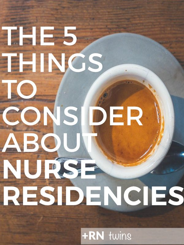 If you're a new grad nurse preparing for the job search or you haven't had any luck yet, you may want to turn your attention to nurse residencies! Nurse residency programs are extended versions of orientations that have so many resources to offer for new graduate nurses! Click through to read about the top 5 things you should consider about nurse residencies!