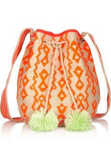 SOPHIE ANDERSON Lilla crocheted cotton shoulder bag €336.77