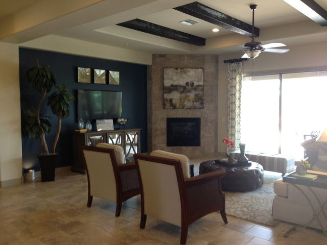 Eye candy furnished model homes in arizona finished for Homes with basements in arizona
