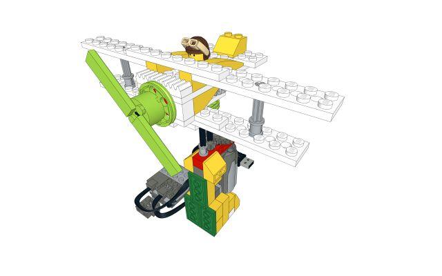 Biplane LEGO WeDo