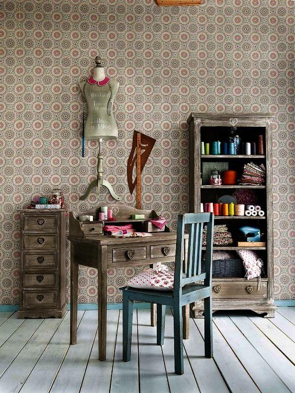 M s de 25 ideas incre bles sobre rinc n de costura en for La casa de mi gitana muebles