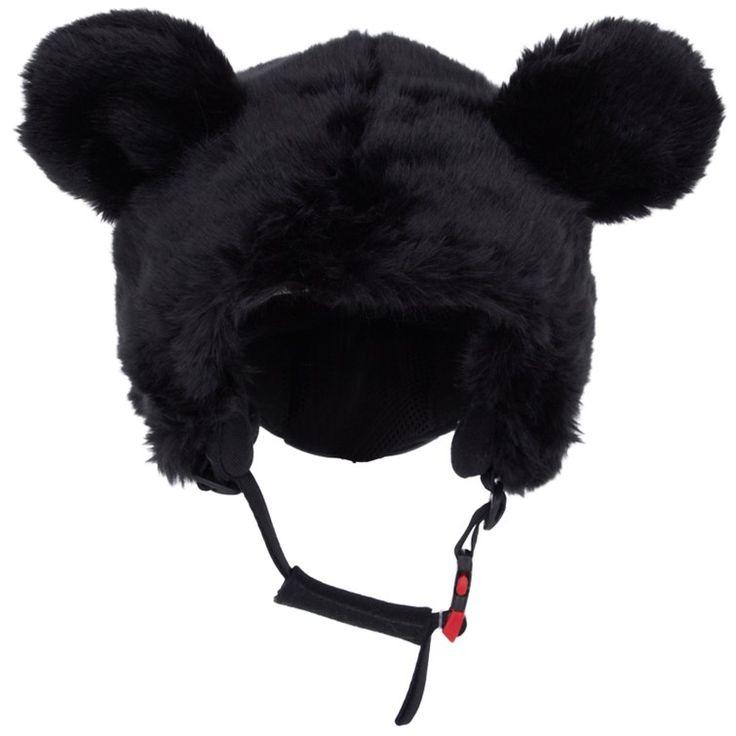 Headztrong Black Snow Bear Ski Helmet Cover    AlexandAlexa