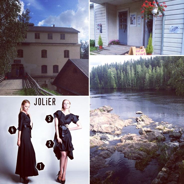 A few images from our ex tempore visit to the pop up store in the historical Juankoski Ruukki venue 😊 -Such a lovely small town located in the beautiful and vast Tahko region 😍 known from its nature. ‪#‎popup‬ ‪‪#‎visitfinland‬ ‪#‎summer‬☀️
