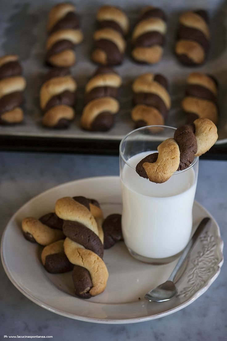 Intrecci cacao e vaniglia - La cucina spontanea - ricette, fotografie e parole.