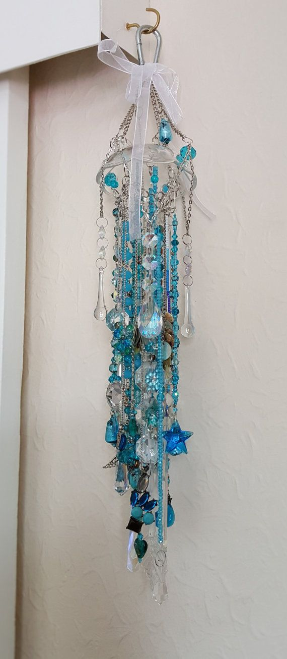 Turquoise Delight  Sun-Catcher  Chime Elegant by ReflectivePrisms