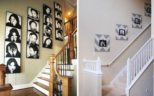 67 best portaretratos images on pinterest decorating for Cuadros para escaleras