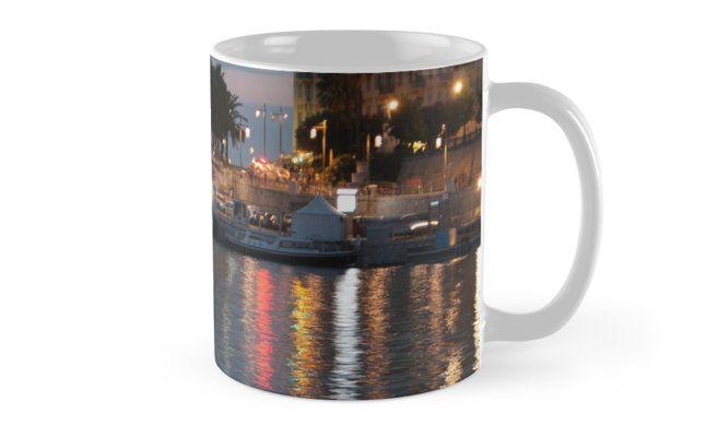 #bag #sac #water #eau #port #harbour #niceislove #Ilovenice #NiceMoments #nissalabella #cotedazur #cotedazurnow #riviera buy online #art #goodies #gift #Kunst #Geschenck #cadeau achetez en ligne ! By w.s.m. #photo #picture Nice et son port Mug by MuseumBoulevard