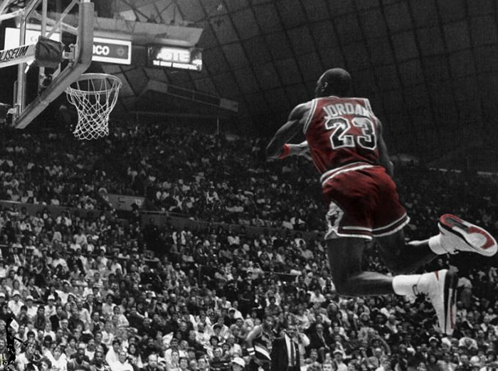 Michael Jordan -1987 Slam Dunk Contest #michael #jordan 180coaching.org
