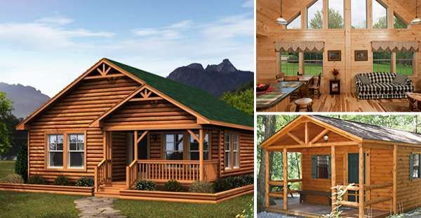 Prefab Log Cabins For Those On A Budget