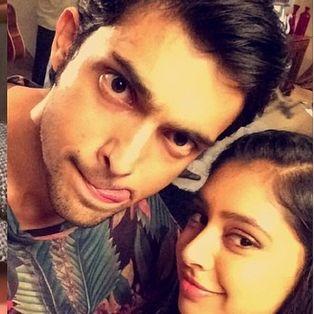 Parth Samthaan and Niti Taylor 🙈👌🏼😍💯