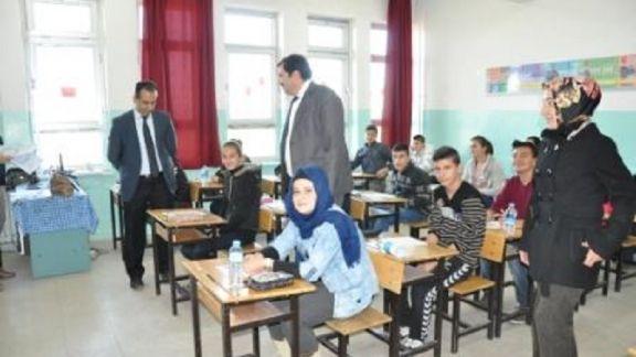 21 okulda 728 öğrenci sınava girdi