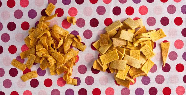 The beauty of a Frito is in its simplicity: a little cornmeal, lots of salt, not much else. (Photo: Andrew Scrivani for The New York Times)