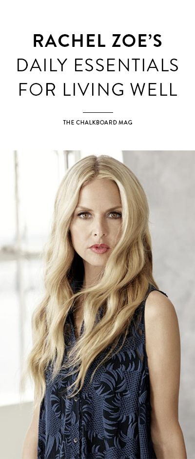 Whether it's inspiration from her friends or going off the grid for bedtime stories, here's how Rachel Zoe is keeping work, fam and everything in between in perfect balance…