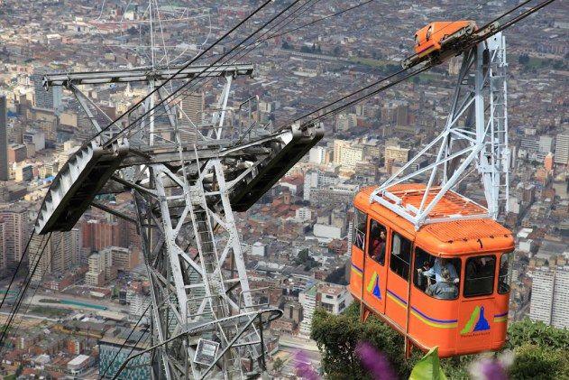 Kolombiya, Bogota Gezilecek Yerler