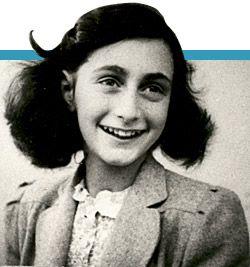 Anne Frank was een van de bekenste joden. dat komt doordat zij tijdens het onderduiken een dagboek heeft geschreven wat later bekent is geworden.