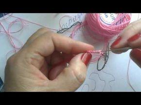 Цветочные бутоны выполнены крючком - YouTube