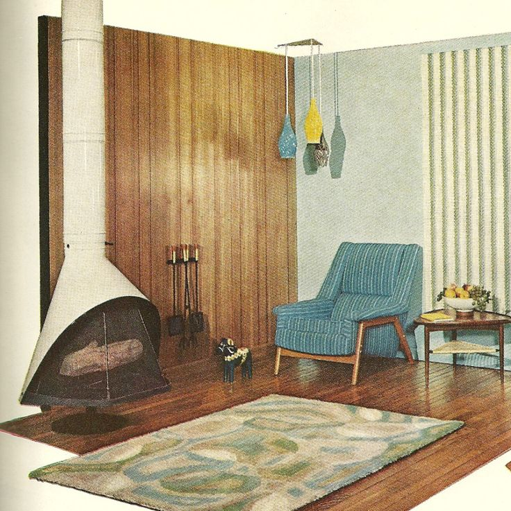 Curtains Home Interior: 1960s Decorating, Vintage Home Decor