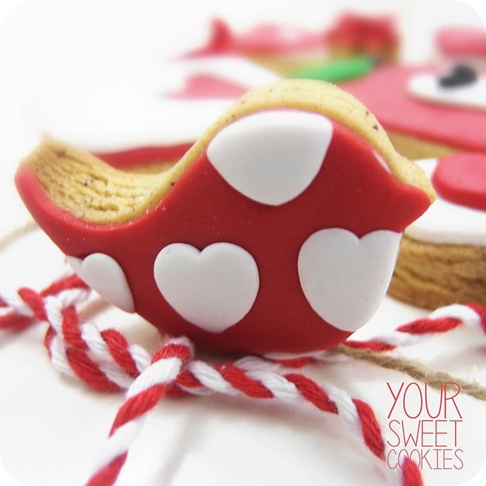 Love Bird Cookie http://instagram.com/yoursweetcookiess