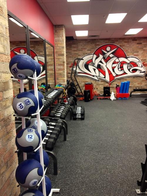 Gym Wall Graffiti Gym Gym Design Gym Workouts Gym Logo