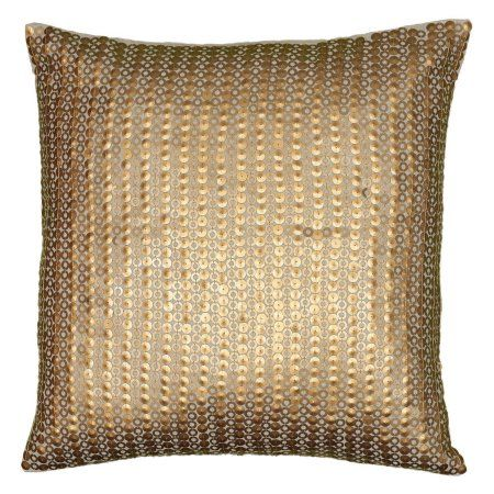 Rizzy Home Gather Details on Both Sides Decorative Throw Pillow, Beige