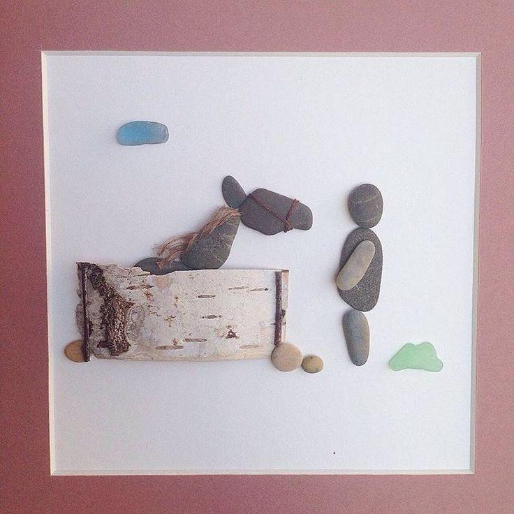 388 besten bastelideen bilder auf pinterest muscheln - Bastelideen mit sand ...