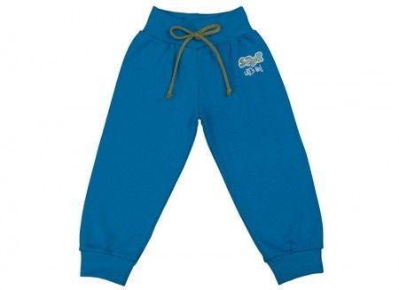 Pantalonaşi cu bandă lată în talie albastru închis 100% bumbac | Cod produs: NID168