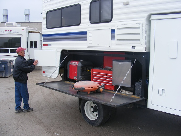 Seek Out Those Extra Storage Spots Outside The Camper And