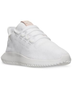 adidas Women's Tubular Shadow Casual Sneakers from Finish Line - White