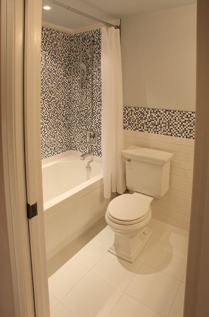 201 best images about bathrooms on pinterest for Bathroom accent tile ideas