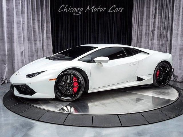 Cool Awesome Huracan LP610-4 Coupe 2015 Lamborghini Huracan LP610-4 Coupe Bianco Icarus Metallic 2017/2018