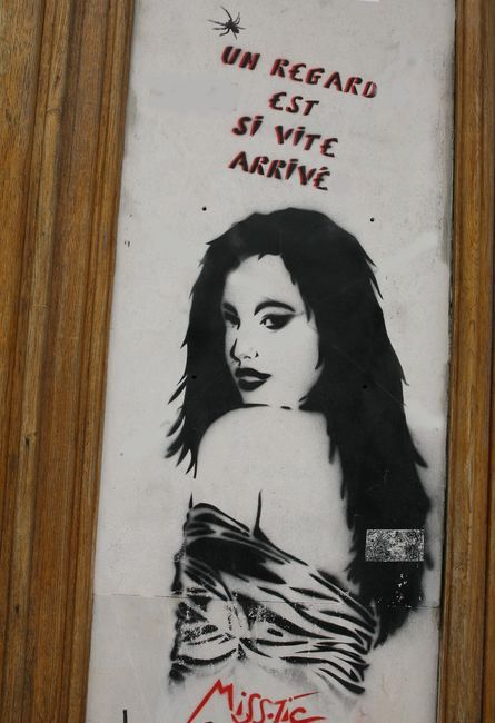 Street Art By Miss-tic - Paris (France)