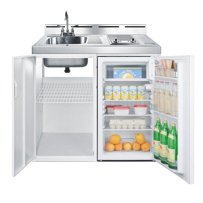 All In One 2 93 Cu Ft Undercounter Mini Fridge With Freezer