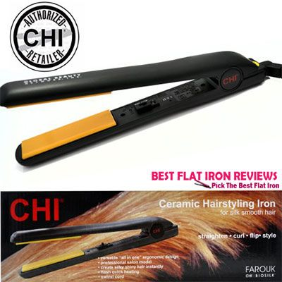 Two words define CHI 1InchCeramic Flat Iron, Standard and awesomeness. Most product reviews are about top flat iron, which are manufactured for versatile hai(...)