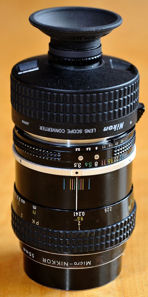 Nikon Micro-Nikkor 55mm f/3.5 review and recommendations for accessories