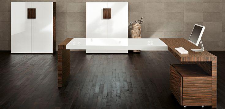 Design-Työpöydät Kyo, valmistanut Martex, Designer Mario Mazzer