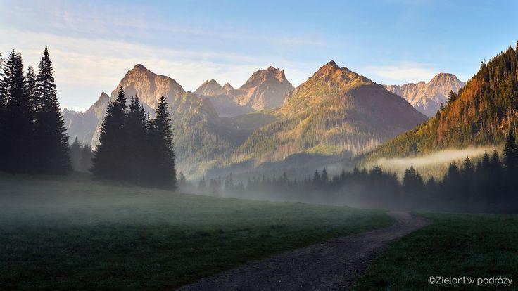 Bielovodská dolina. Tatra Mountains, Slovakia