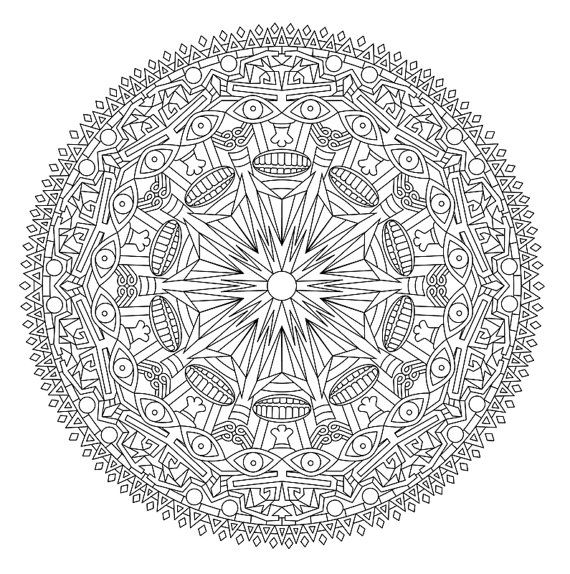 Zen Mandalas Coloring Book : 4830 best mandala images on pinterest