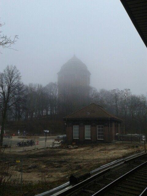 Sternschanze bei Nebel