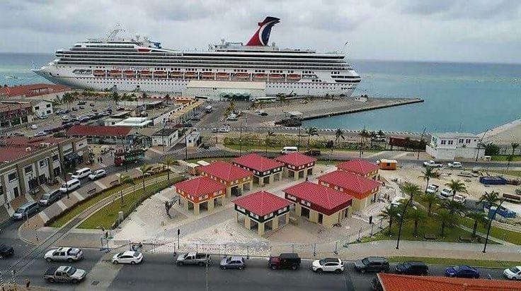 Cruise terminal Aruba Oranjestad